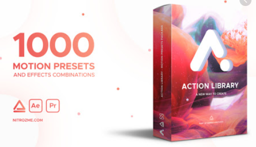 VideoHive Action Library Motion Presets Package for After Effects