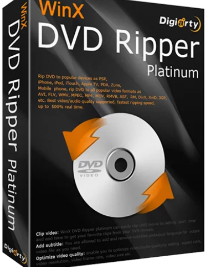 WinX DVD Ripper Platinum 2020