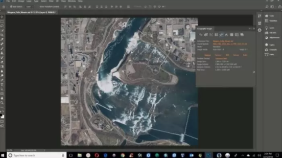 Avenza Geographic Imager for Adobe Photoshop 6.1