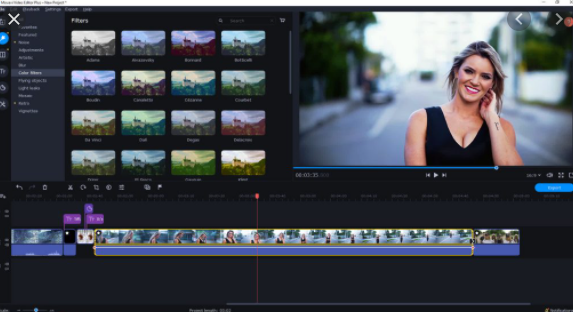 Movavi Video Editor Plus 2019