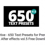 VideoHive – 650 Text Presets for Premiere Pro After effects vol.5
