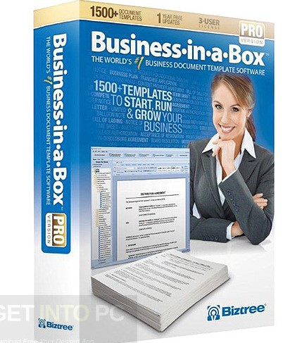 Business in a Box Pro Templates