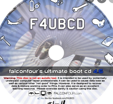 Flaconsfours Ultimate Boot CD