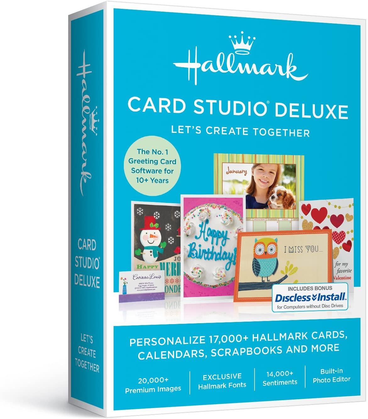 Hallmark Card Studio 2017 Deluxe