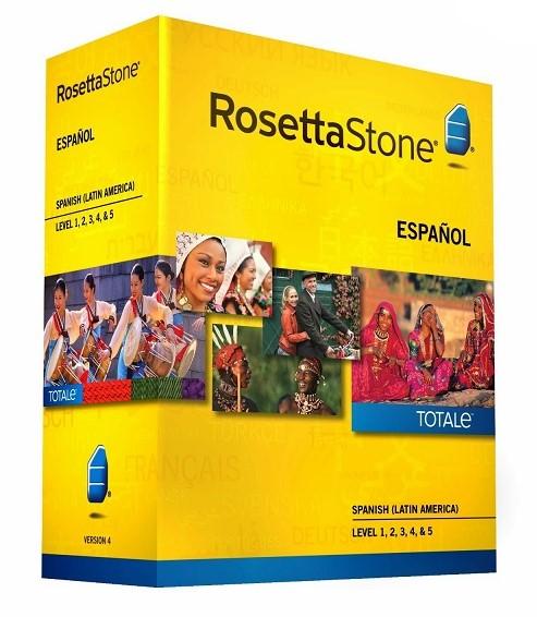 Rosetta Stone Spanish Latin America with Audio Companion