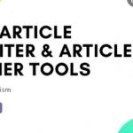 Article Spinner Rewritter