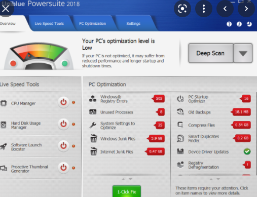 Uniblue Powersuite 2016 4