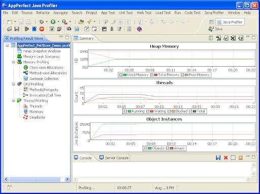 Appperfect Java Profiler 14