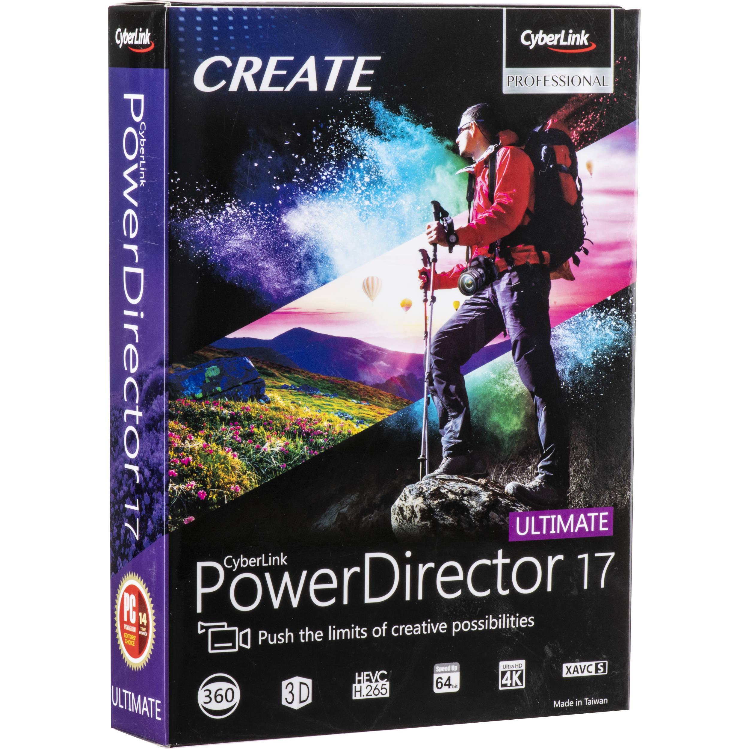 Cyberlink Powerdirector Ultra 17