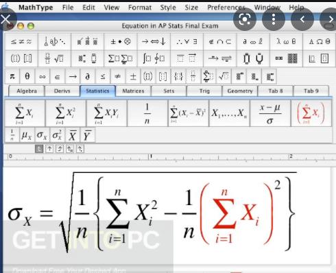 Design Science Mathtype 2018