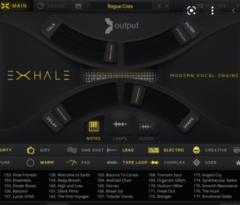 Exhale Vocal Engine