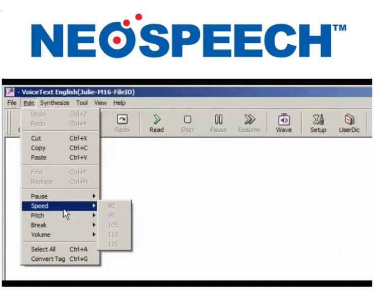 Neospeech Julie Text to Speech