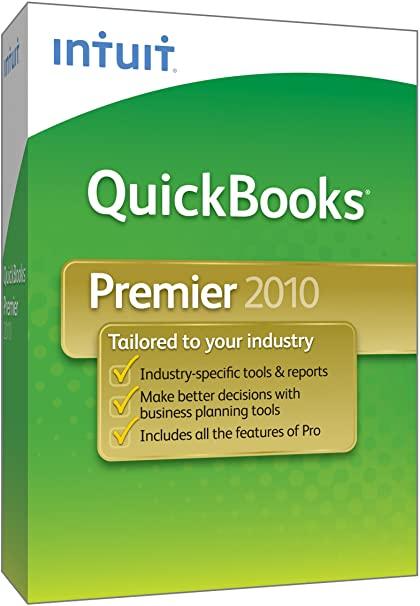 Quickbooks UK Premier 2010