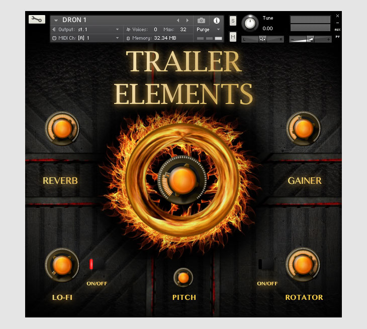TH Studio Trailer Elements Cinematic Sounds Pack