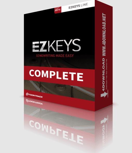Toontrack Ezkeys Complete