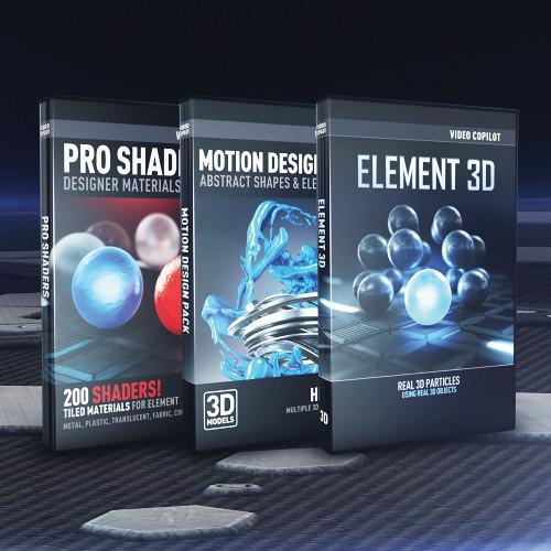 Video Copilot Element 3d Ultra 3d Bundle