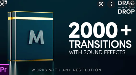 Videohive Modern Transitions For Premiere