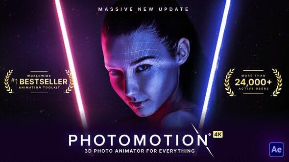Videohive Photomotion Professional 3d Photo Animator