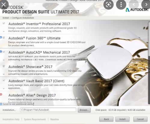 Autodesk Autocad Design Suite Ultimate 2017
